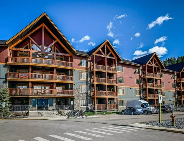 300 Palliser Lane #405, Canmore, AB T1W 0H5 (#A1039616) :: Canmore & Banff