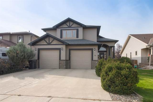 14 Canyoncrest Court W, Lethbridge, AB T1K 7Y3 (#A1039699) :: Canmore & Banff