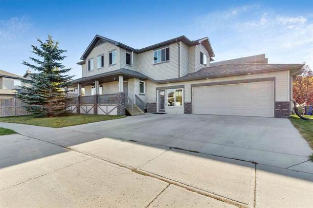 208 Sheep River Cove, Okotoks, AB T1S 0M7 (#A1039739) :: Canmore & Banff