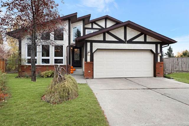 44 Woodstock Way SW, Calgary, AB T2W 5X3 (#A1039834) :: Canmore & Banff