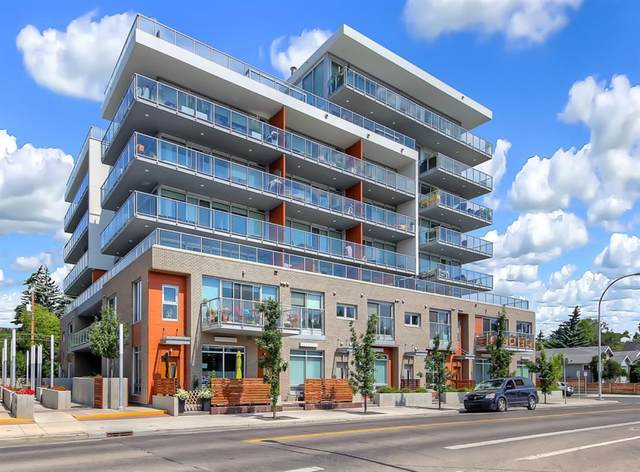 1234 5 Avenue NW #1109, Calgary, AB T2N 0R9 (#A1039898) :: Canmore & Banff