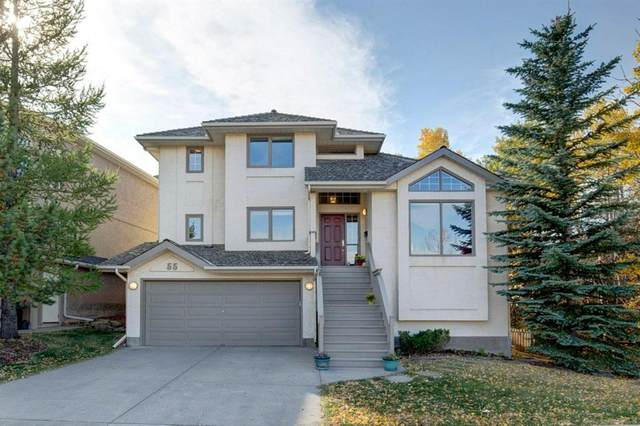 55 Stratton Crescent SW, Calgary, AB T3H 1T7 (#A1040233) :: Canmore & Banff