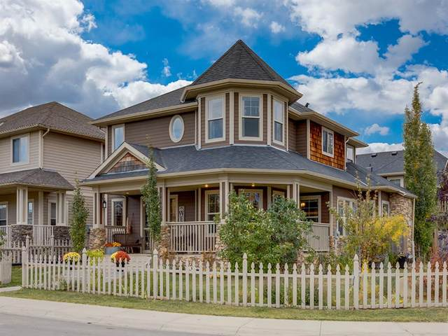 1120 Channelside Way SW, Airdrie, AB T4B 3J2 (#A1040239) :: Canmore & Banff