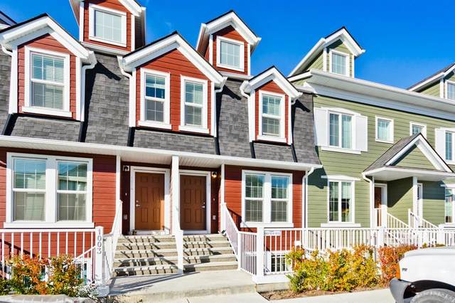 2400 Ravenswood View SE #1015, Airdrie, AB T4A 0V7 (#A1040263) :: Canmore & Banff