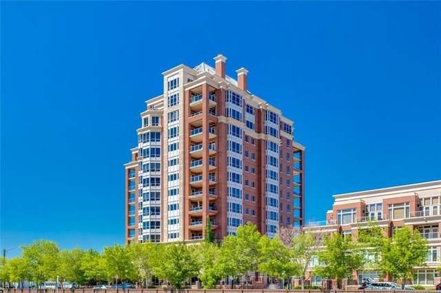 690 Princeton Way SW #801, Calgary, AB T2P 5J9 (#A1040440) :: Western Elite Real Estate Group
