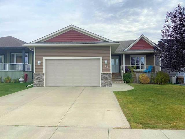 45 Emily Crescent, Lacombe, AB T4L 0A5 (#A1040572) :: Redline Real Estate Group Inc