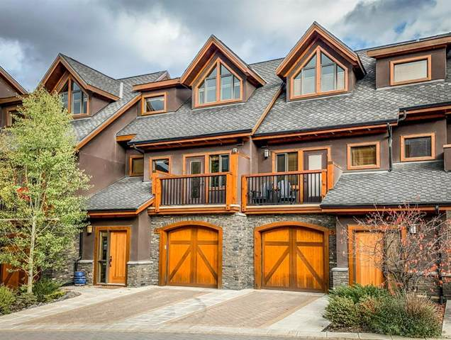 6 Streamside Lane, Canmore, AB T1W 0J2 (#A1040688) :: Canmore & Banff