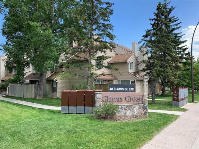 33 Glamis Green SW #225, Calgary, AB T3E 6T9 (#A1040744) :: Canmore & Banff