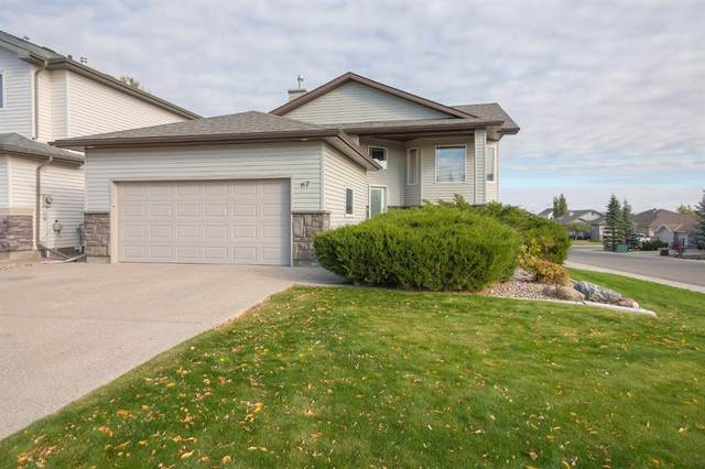 67 Riverwood Manor W, Lethbridge, AB T1K 7Y2 (#A1040777) :: Canmore & Banff