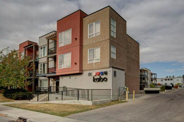 3600 15A Street SW #211, Calgary, AB T2T 5P8 (#A1040836) :: Canmore & Banff