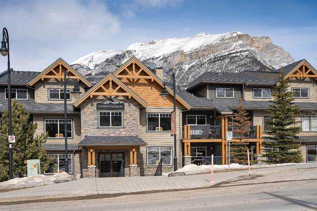 250 2ND Avenue 5107D, Dead Man's Flats, AB T1W 2W4 (#A1040887) :: Canmore & Banff