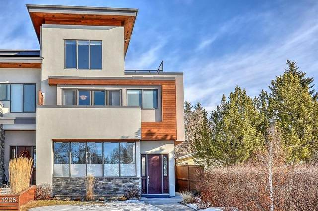 1208 26 Street SW, Calgary, AB T3C 1K2 (#A1040924) :: Canmore & Banff