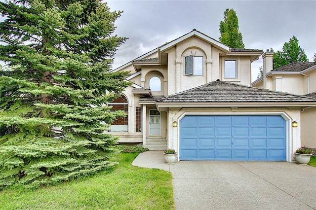 121 Mountain Park Drive SE, Calgary, AB T2Z 2G2 (#A1041023) :: Canmore & Banff