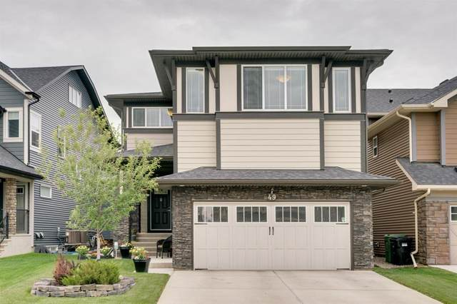 49 Kincora Mews NW, Calgary, AB T3R 0N3 (#A1041025) :: Redline Real Estate Group Inc