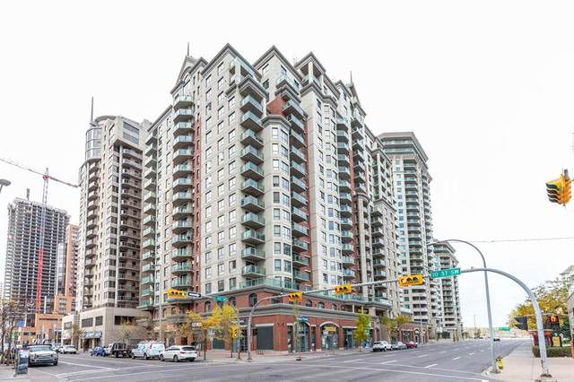 1111 6 Avenue SW #1408, Calgary, AB T2P 5M5 (#A1041222) :: Western Elite Real Estate Group