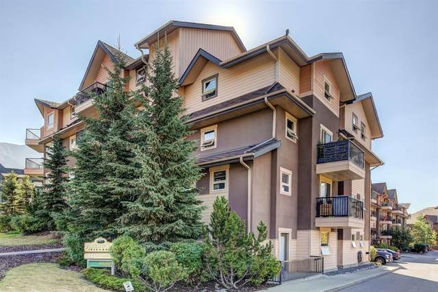 186 Kananaskis Way #402, Canmore, AB T1W 0A2 (#A1041297) :: Western Elite Real Estate Group