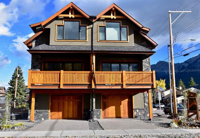 802 6TH STREET #2, Canmore, AB T1W 2E2 (#A1041344) :: Canmore & Banff
