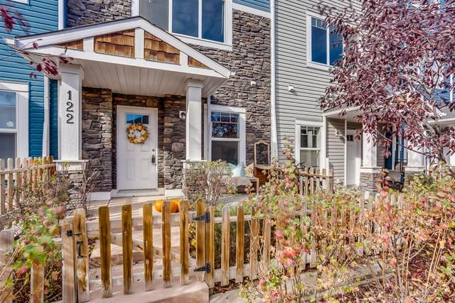2802 Kings Heights Gate SE #122, Airdrie, AB T4A 0T3 (#A1041421) :: Canmore & Banff