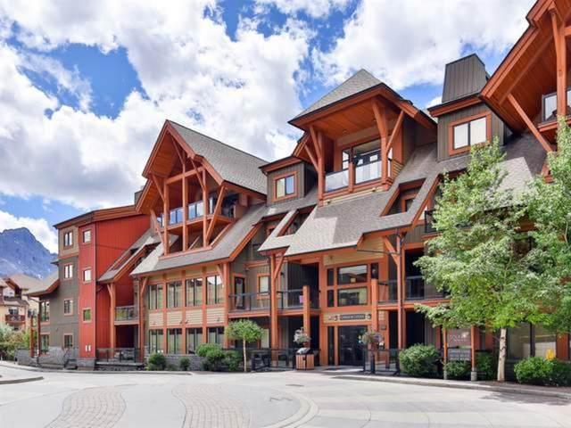 187 Kananaskis Way 407 (ROT AEI), Canmore, AB T1W 0E3 (#A1041434) :: Western Elite Real Estate Group