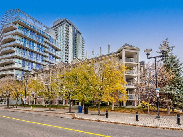 630 8 Avenue SE #516, Calgary, AB T2G 5T2 (#A1041652) :: Canmore & Banff