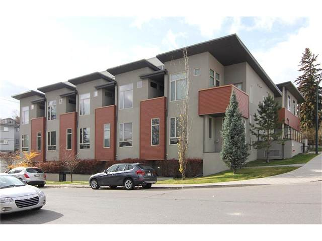 1905 27 Avenue SW #113, Calgary, AB T2T 1H4 (#A1041657) :: Canmore & Banff