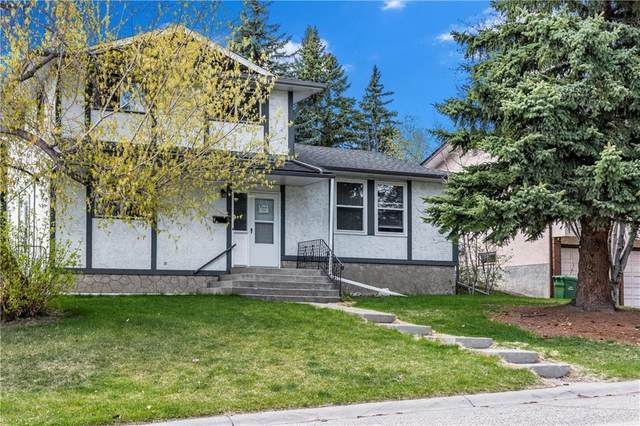 5132 Dalham Crescent NW, Calgary, AB T3A 1L7 (#A1041758) :: Canmore & Banff