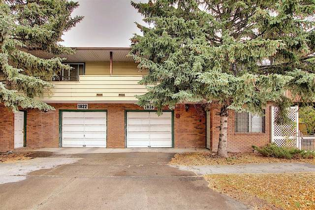 1818-1822 6 Street NW, Calgary, AB T2M 4T5 (#A1041796) :: Canmore & Banff
