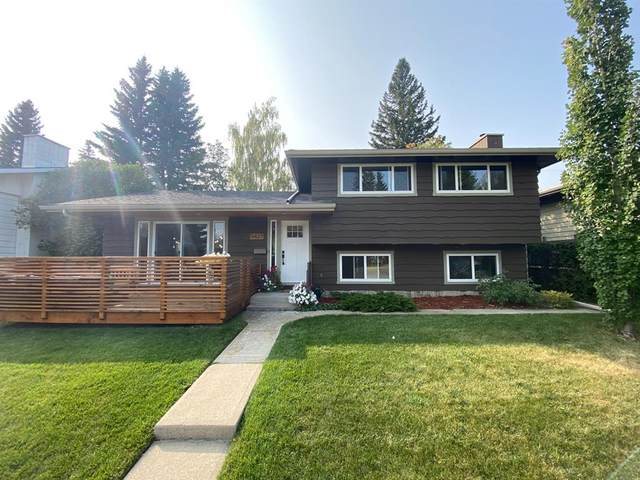 5427 Lakeview Drive SW, Calgary, AB T3E 5S3 (#A1041838) :: Canmore & Banff