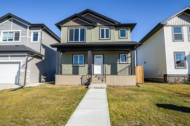 54 Valmont Street, Blackfalds, AB T4H 0L2 (#A1041910) :: Canmore & Banff