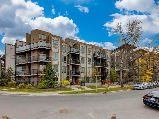 823 5 Avenue NW #326, Calgary, AB T2N 0R5 (#A1041938) :: Canmore & Banff