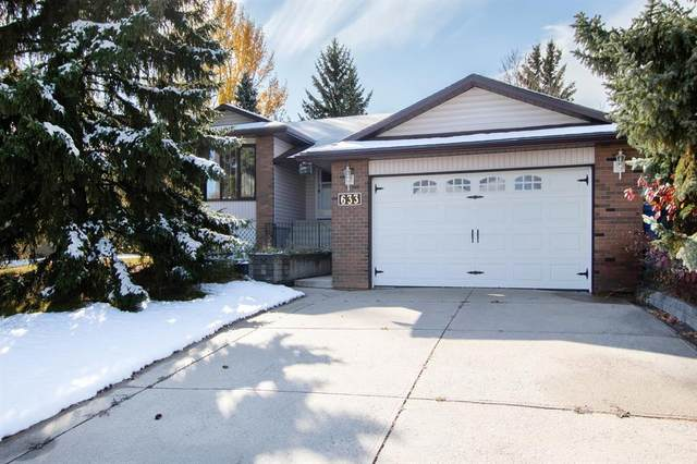 633 Wallace Drive, Carstairs, AB T0M 0N0 (#A1042129) :: Canmore & Banff