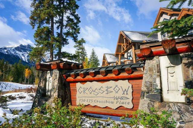 175 Crossbow Place #111, Canmore, AB T1W 3H7 (#A1042178) :: Canmore & Banff