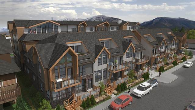 810 7th Street #308, Canmore, AB T1W 2C8 (#A1042257) :: Canmore & Banff