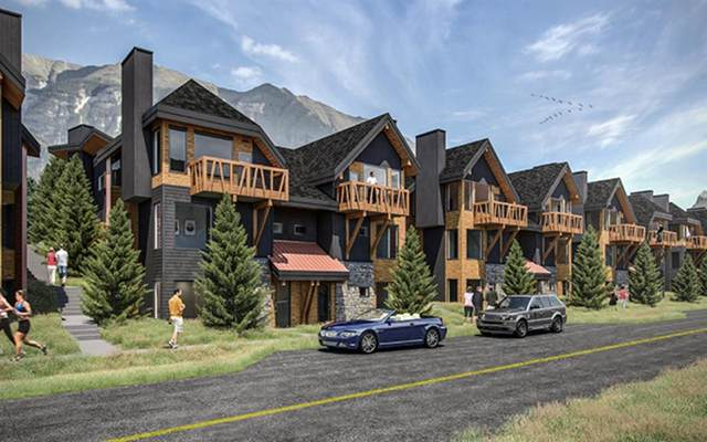 1200 Three Sisters Parkway 201D, Canmore, AB T1W 0L3 (#A1042378) :: Canmore & Banff