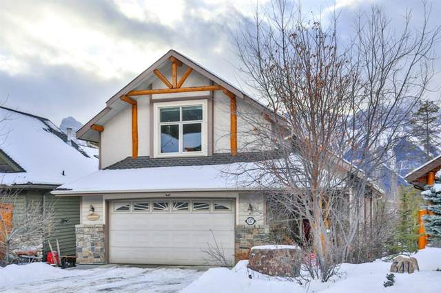 337 Eagle Heights, Canmore, AB T1W 3C9 (#A1042429) :: Canmore & Banff