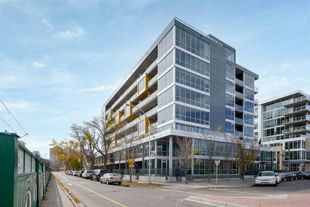 235 9A Street NW #711, Calgary, AB T2N 1T7 (#A1042437) :: Canmore & Banff
