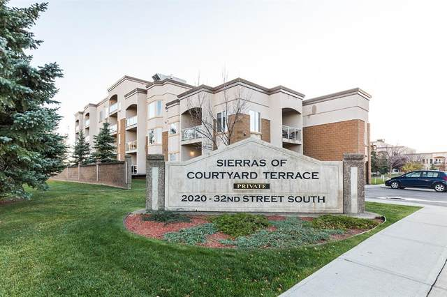 2020 32 Street S #171, Lethbridge, AB T1K 7T9 (#A1042570) :: Canmore & Banff