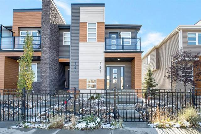 341 Midtown Gate SW, Airdrie, AB T4B 4C9 (#A1042691) :: Canmore & Banff