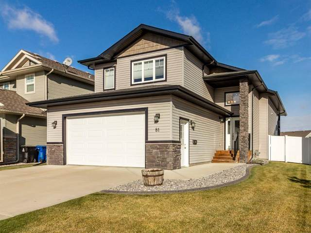 81 Churchill Place, Blackfalds, AB T4M 0B7 (#A1042700) :: Canmore & Banff