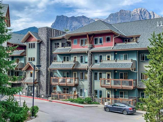 101 Montane Road #417, Canmore, AB T1W 0G2 (#A1042732) :: Western Elite Real Estate Group