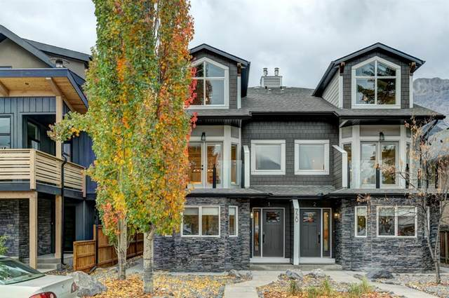 729 7th Street #1, Canmore, AB T1W 2C3 (#A1042744) :: Canmore & Banff