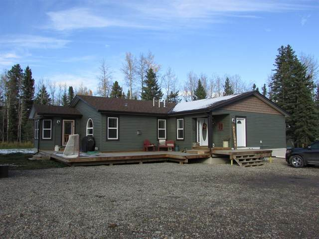 33475 Range Road 61 Road NW, Rural Mountain View County, AB T0M 1X0 (#A1042844) :: Canmore & Banff