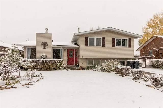 14 Garden Court, Sylvan Lake, AB T4S 1M4 (#A1042877) :: Canmore & Banff