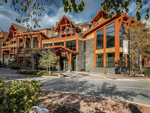 191 Kananaskis Way #201, Canmore, AB T1W 0A3 (#A1042932) :: Western Elite Real Estate Group