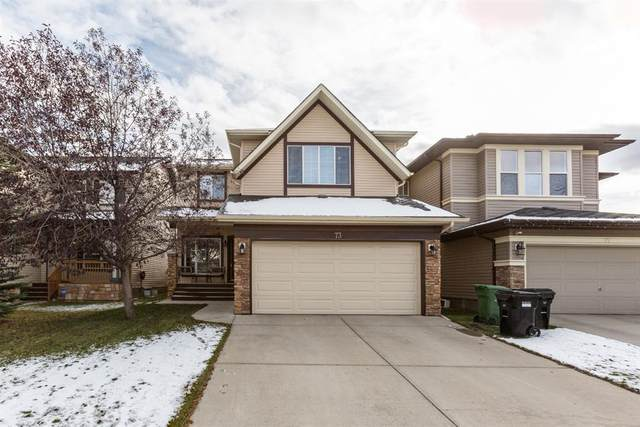 73 Panamount Villas NW, Calgary, AB T3K 0A4 (#A1043015) :: Canmore & Banff