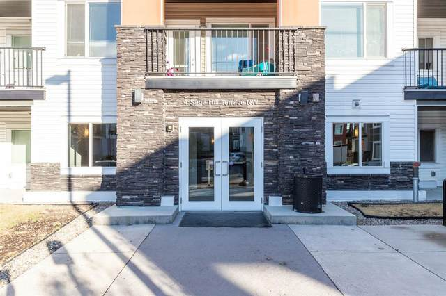 4 Sage Hill Terrace NW #112, Calgary, AB T3R 0W4 (#A1043042) :: Canmore & Banff