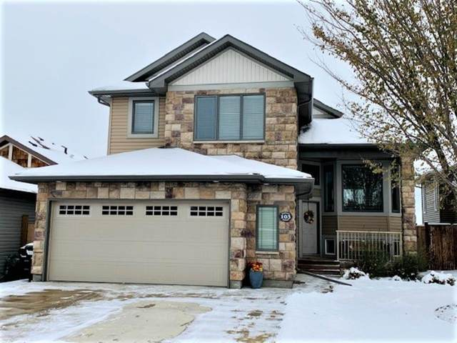 103 Riverland Close W, Lethbridge, AB T1K 5T6 (#A1043085) :: Canmore & Banff