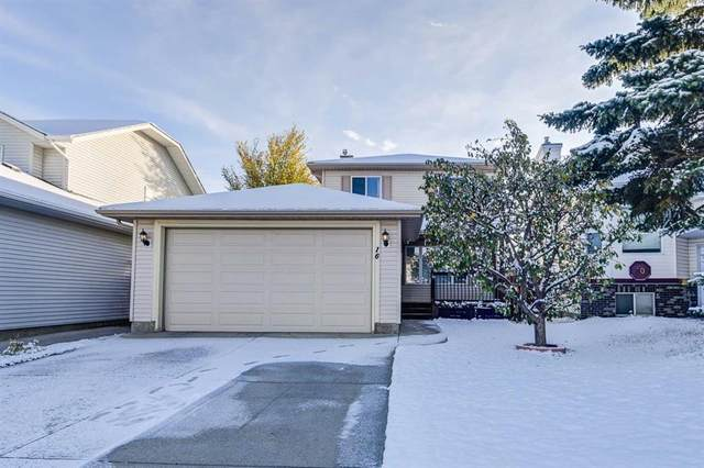16 Coverdale Place NE, Calgary, AB T3K 4E9 (#A1043119) :: Canmore & Banff