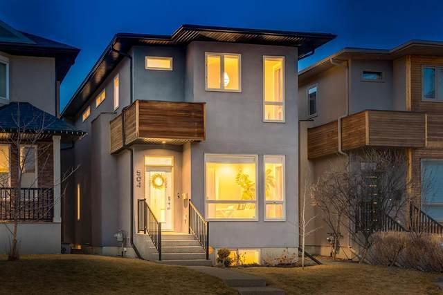 504 52 Avenue SW, Calgary, AB T2V 0B2 (#A1043281) :: Canmore & Banff