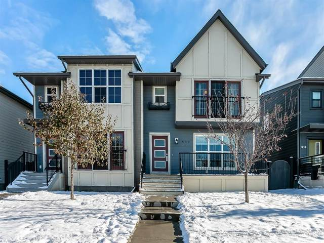 509 Walden Drive SE, Calgary, AB T2X 0T3 (#A1043308) :: Canmore & Banff